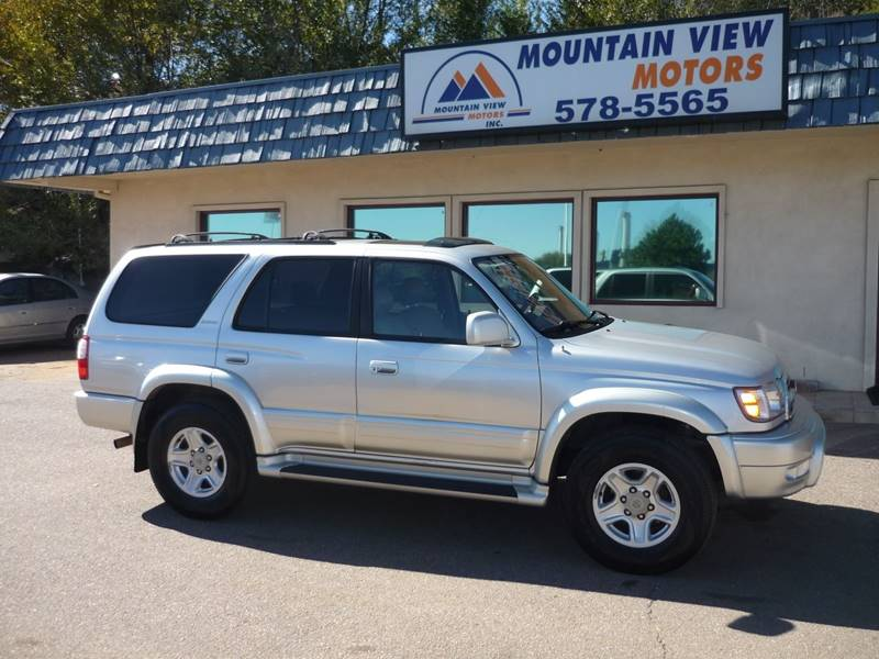 2000 Toyota 4Runner Limited 4dr SUV   Colorado Springs CO
