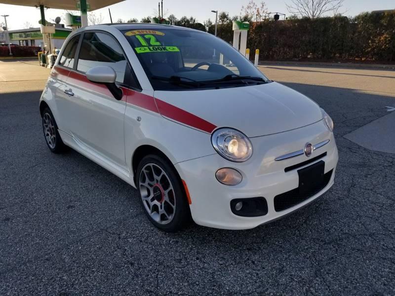 Fiat Sport Dr Hatchback In Bayonne NJ ASH Auto Sales - Fiat nj