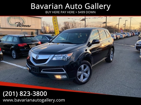 2012 Acura MDX SH-AWD w/Tech w/RES for sale at Bavarian Auto Gallery in Bayonne NJ