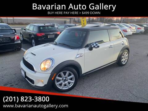 2013 MINI Hardtop Cooper S for sale at Bavarian Auto Gallery in Bayonne NJ