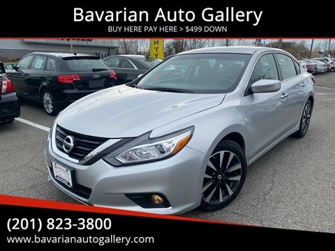 2018 Nissan Altima 2.5 SV for sale at Bavarian Auto Gallery in Bayonne NJ