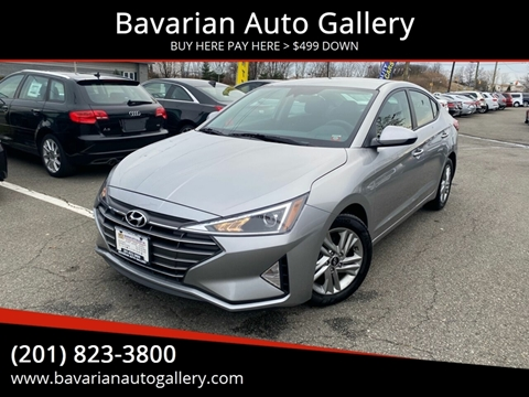2020 Hyundai Elantra SEL for sale at Bavarian Auto Gallery in Bayonne NJ