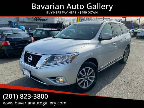2013 Nissan Pathfinder SL for sale at Bavarian Auto Gallery in Bayonne NJ