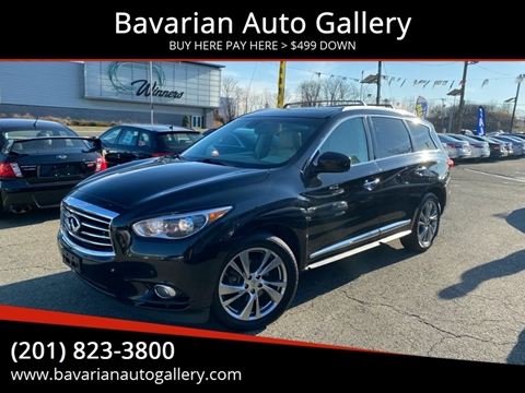 2013 Infiniti JX35 for sale at Bavarian Auto Gallery in Bayonne NJ