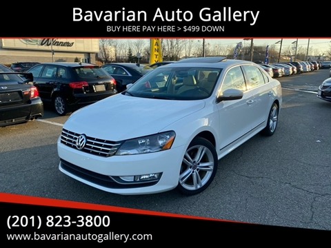 2013 Volkswagen Passat TDI SEL Premium for sale at Bavarian Auto Gallery in Bayonne NJ