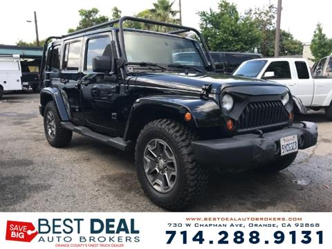 2007 Jeep Wrangler Unlimited for sale in Orange, CA