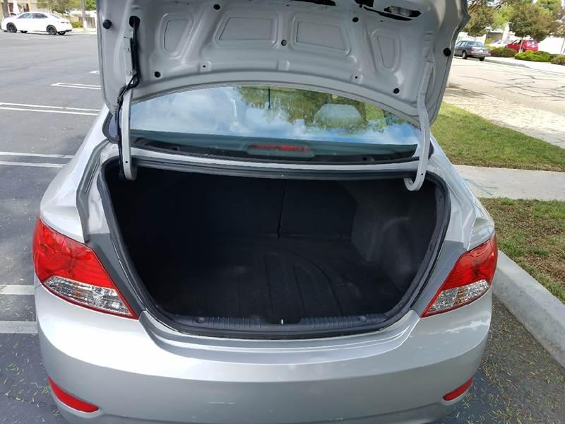 2013 Hyundai Accent GLS 4dr Sedan - Covina CA