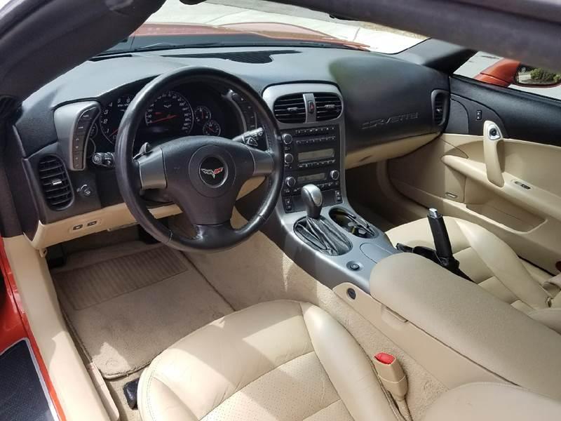 2006 Chevrolet Corvette 2dr Coupe - Covina CA