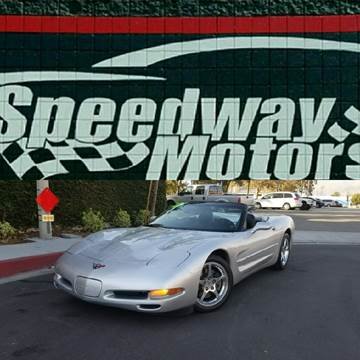2001 Chevrolet Corvette for sale in Covina, CA