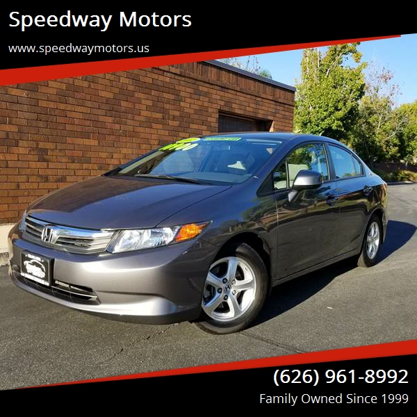 2012 Honda Civic For Sale At Speedway Motors In Glendora CA