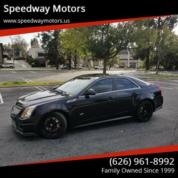 2010 Cadillac CTS-V for sale in Glendora, CA