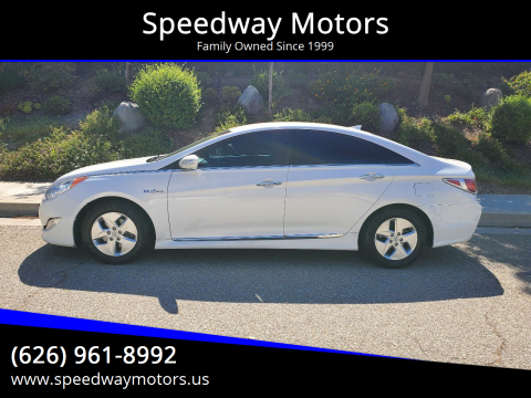 2012 Hyundai Sonata Hybrid for sale at Speedway Motors in Glendora CA