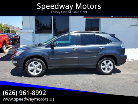 2008 Lexus RX 350 for sale at Speedway Motors in Glendora CA