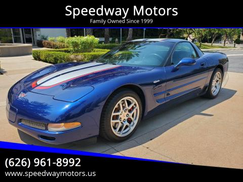 2004 Chevrolet Corvette for sale at Speedway Motors in Glendora CA