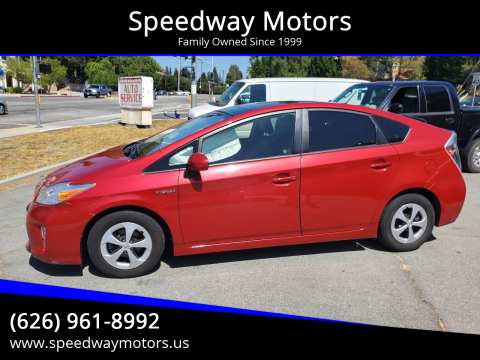 2013 Toyota Prius for sale at Speedway Motors in Glendora CA
