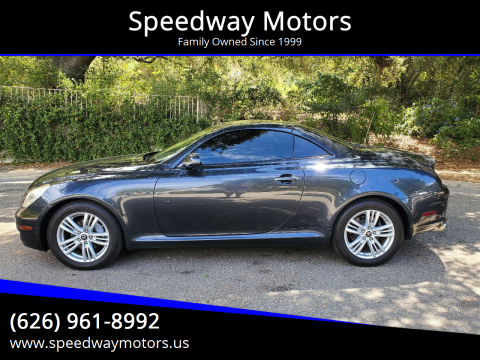 2007 Lexus SC 430 for sale at Speedway Motors in Glendora CA