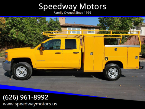 2015 Chevrolet Silverado 2500HD for sale at Speedway Motors in Glendora CA