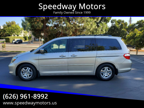 2005 Honda Odyssey for sale at Speedway Motors in Glendora CA