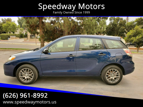 2005 Toyota Matrix for sale at Speedway Motors in Glendora CA