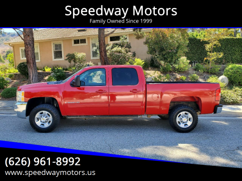 2008 Chevrolet Silverado 2500HD for sale at Speedway Motors in Glendora CA