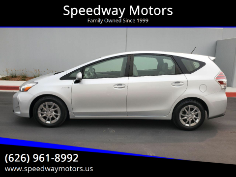 2015 Toyota Prius v for sale at Speedway Motors in Glendora CA