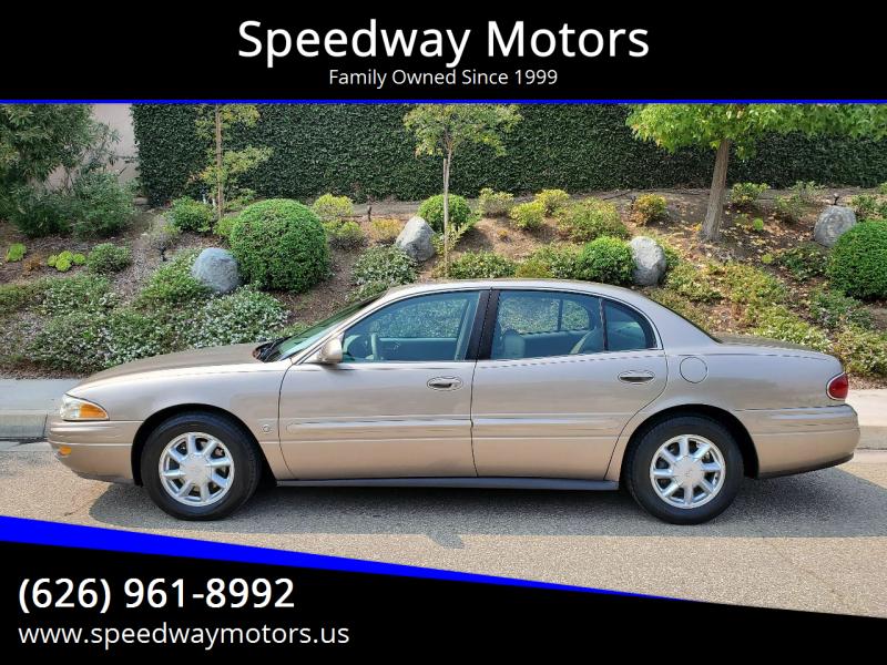 2003 Buick LeSabre for sale at Speedway Motors in Glendora CA