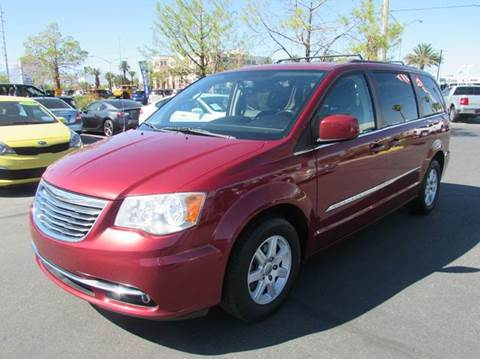 2013 Chrysler Town and Country for sale in Las Vegas, NV