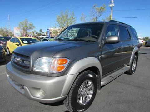 2003 Toyota Sequoia for sale in Las Vegas, NV