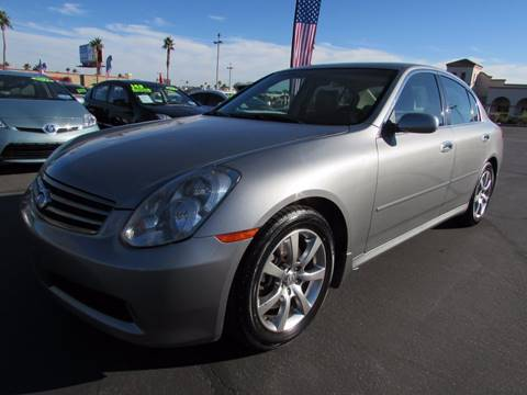 2006 Infiniti G35 for sale at Charlie Cheap Car in Las Vegas NV
