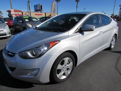 2012 Hyundai Elantra for sale at Charlie Cheap Car in Las Vegas NV