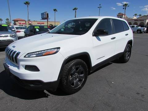2014 Jeep Cherokee for sale in Las Vegas, NV