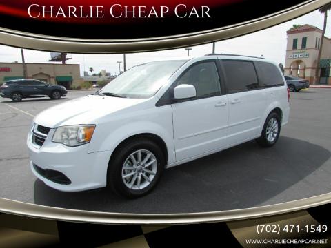 2014 Dodge Grand Caravan for sale at Charlie Cheap Car in Las Vegas NV