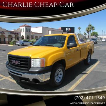 2012 GMC Sierra 1500 for sale at Charlie Cheap Car in Las Vegas NV