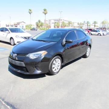 2015 Toyota Corolla for sale at Charlie Cheap Car in Las Vegas NV