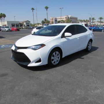 2017 Toyota Corolla for sale at Charlie Cheap Car in Las Vegas NV