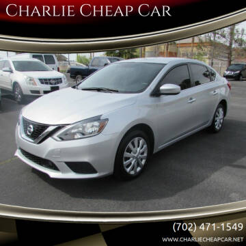 2018 Nissan Sentra for sale at Charlie Cheap Car in Las Vegas NV