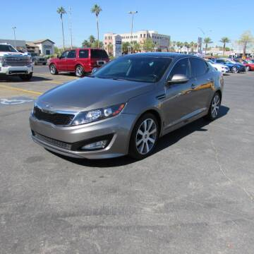 2012 Kia Optima for sale at Charlie Cheap Car in Las Vegas NV