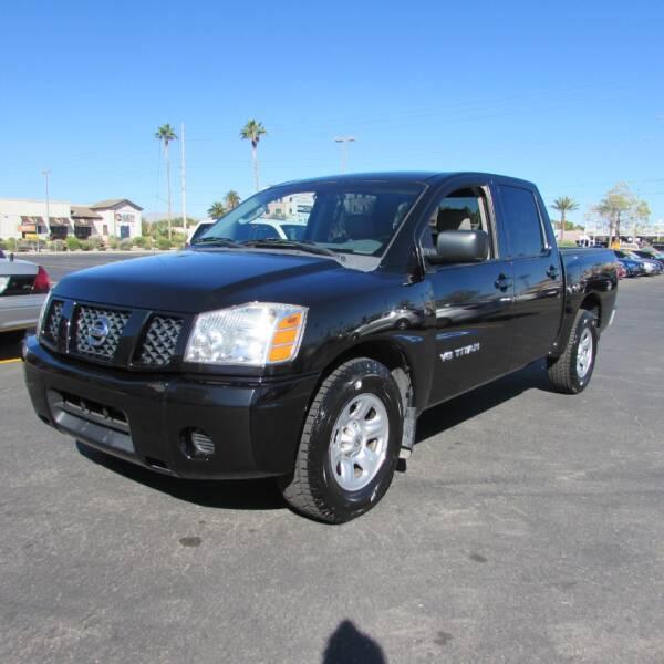 2007 Nissan Titan for sale at Charlie Cheap Car in Las Vegas NV