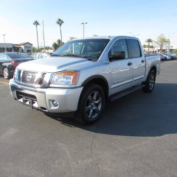 2015 Nissan Titan for sale at Charlie Cheap Car in Las Vegas NV