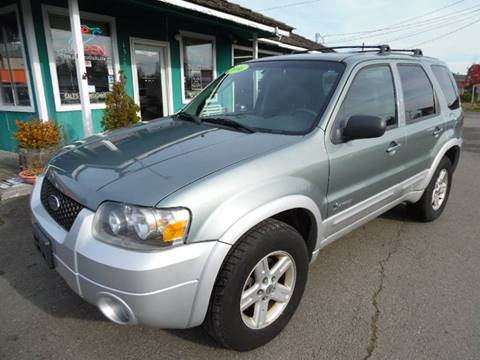 Ford Escape Hybrid For Sale >> 2006 Ford Escape Hybrid For Sale In Port Townsend Wa