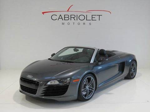 2012 Audi R8 for sale at Cabriolet Motors in Morrisville NC