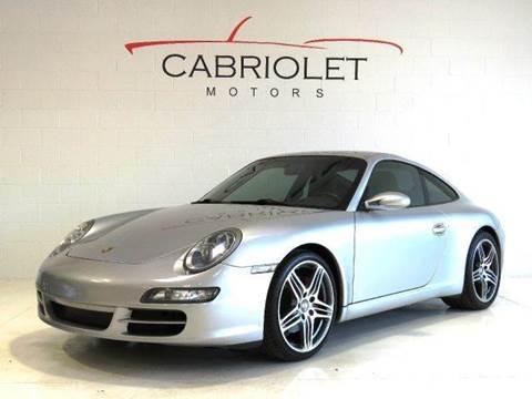 2006 Porsche 911 for sale at Cabriolet Motors in Morrisville NC
