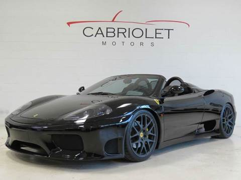 2004 Ferrari 360 Spider for sale at Cabriolet Motors in Morrisville NC
