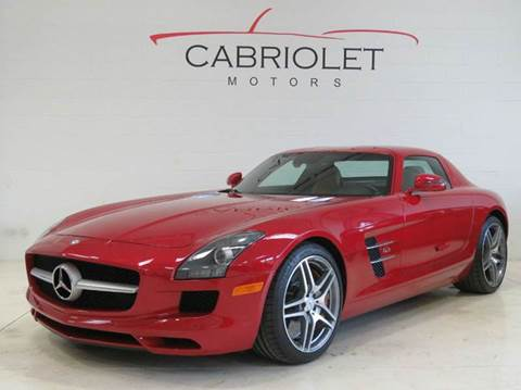 2012 Mercedes-Benz SLS AMG for sale at Cabriolet Motors in Morrisville NC