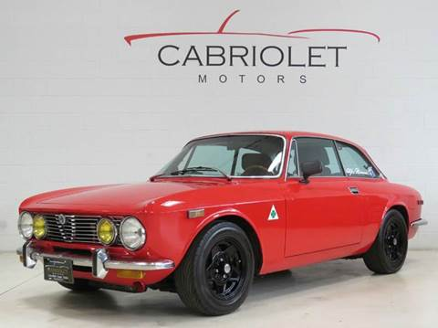 1974 Alfa Romeo Giulia for sale at Cabriolet Motors in Morrisville NC