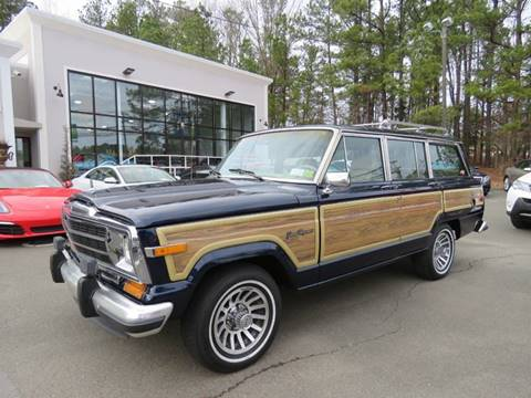 1991 Jeep Grand Wagoneer for sale in Morrisville, NC