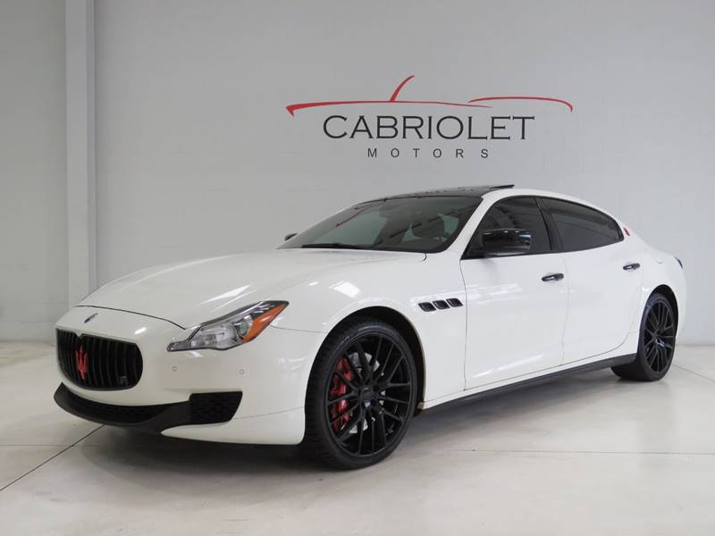 2014 Maserati Quattroporte for sale at Cabriolet Motors in Morrisville NC