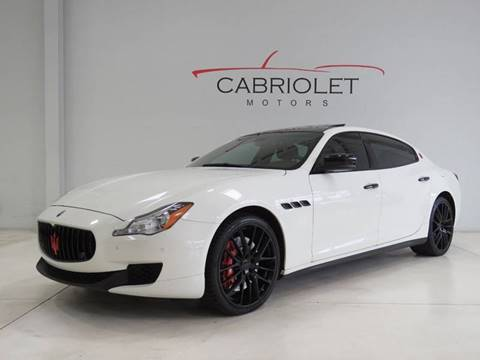 2014 Maserati Quattroporte for sale at Cabriolet Motors in Morrisville NC