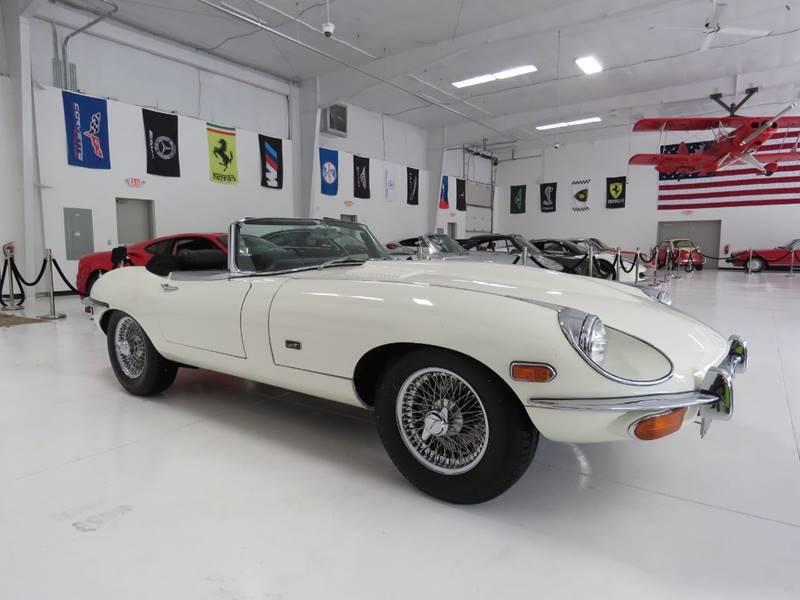 1969 Jaguar E-Type for sale at Cabriolet Motors in Morrisville NC