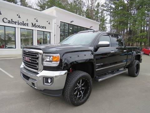2015 GMC Sierra 2500HD for sale in Morrisville, NC